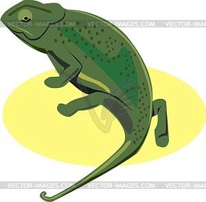 300x294 Chameleon Clip Art