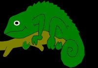200x140 Chameleon Clipart Chameleon Clip Art