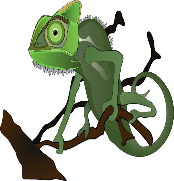 576x598 Chameleon Clipart Chameleon Clip Art Free Vector In Open Office