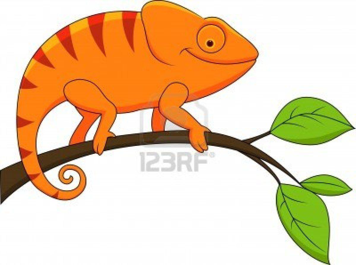 1200x894 Illustration Of Funny Chameleon Cartoon Chameleons, Cartoon