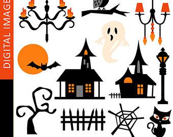 340x270 60% Off Sale Digital Scrapbook Paper, Clip Art Halloween Orange
