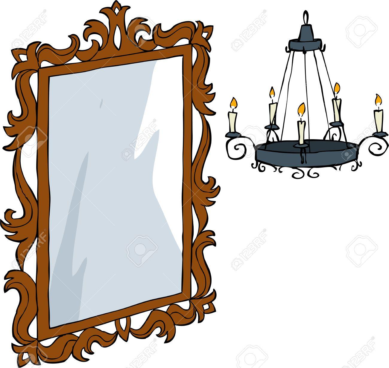 1300x1232 Mirror Clipart Cartoon