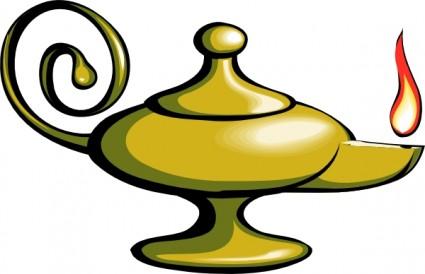 425x274 Aladin Lamp Clip Art Vector Clip Art Free Vector Free Download