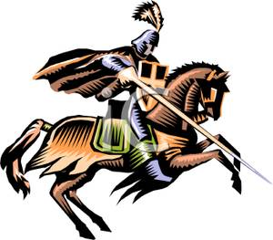 300x263 Charger Knights Clipart