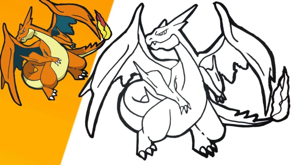 1024x576 How To Draw Mega Charizard