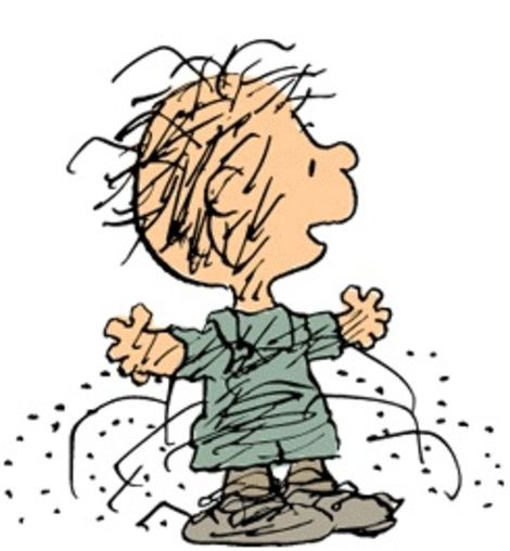 470x508 Peanuts Pig Pen Charlie Brown Characters Clipart