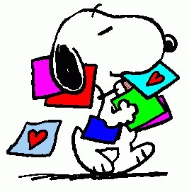 267x271 Free Charlie Brown Valentine Day Clipart