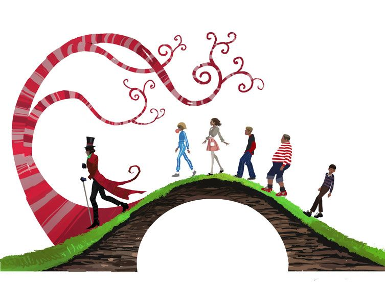 753x560 Clipart Of Charlie And The Chocolate Factory