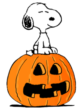 277x371 Charlie Brown Halloween Clipart