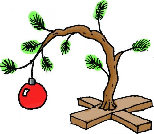 500x435 Charlie Brown Tree Clipart