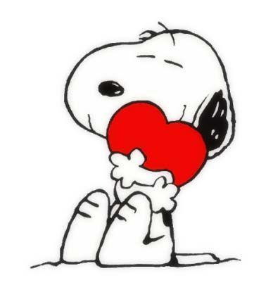388x422 Snoopy Valentine Clipart