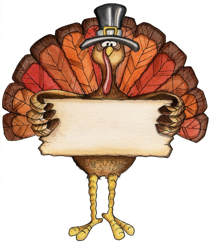 690x800 Thanksgiving Clipart Sign