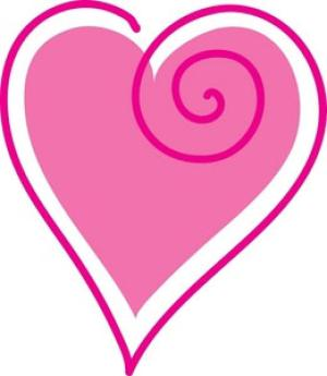 300x345 Image Of Valentine Heart Clipart