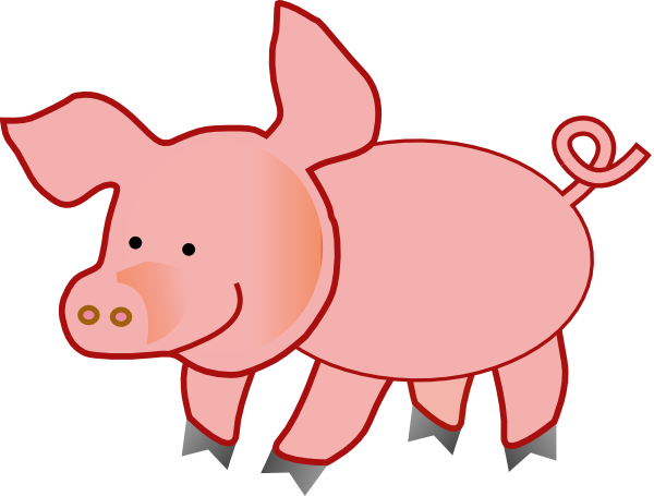 600x455 Pig Print Out Pig Party Barn Quilts, Clip Art