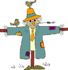 236x244 Row Of Corn And Scarecrow Clipart Fall Festival Digital Clip Art