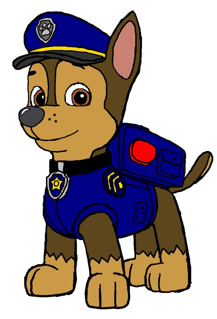 737x1084 Chase Paw Patrol By Kingleonlionheart On Clipart