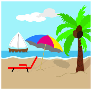 300x295 Free Beach Clipart Image 0515 1011 1202 2435 Acclaim Clipart