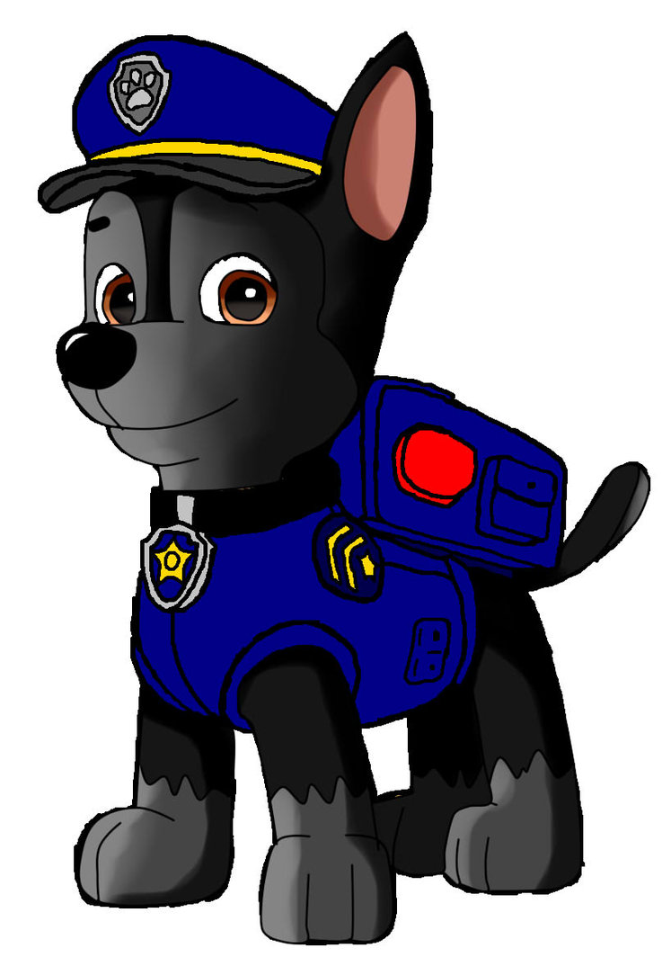 737x1084 Chase Paw Patrol By Dannyedcoyote