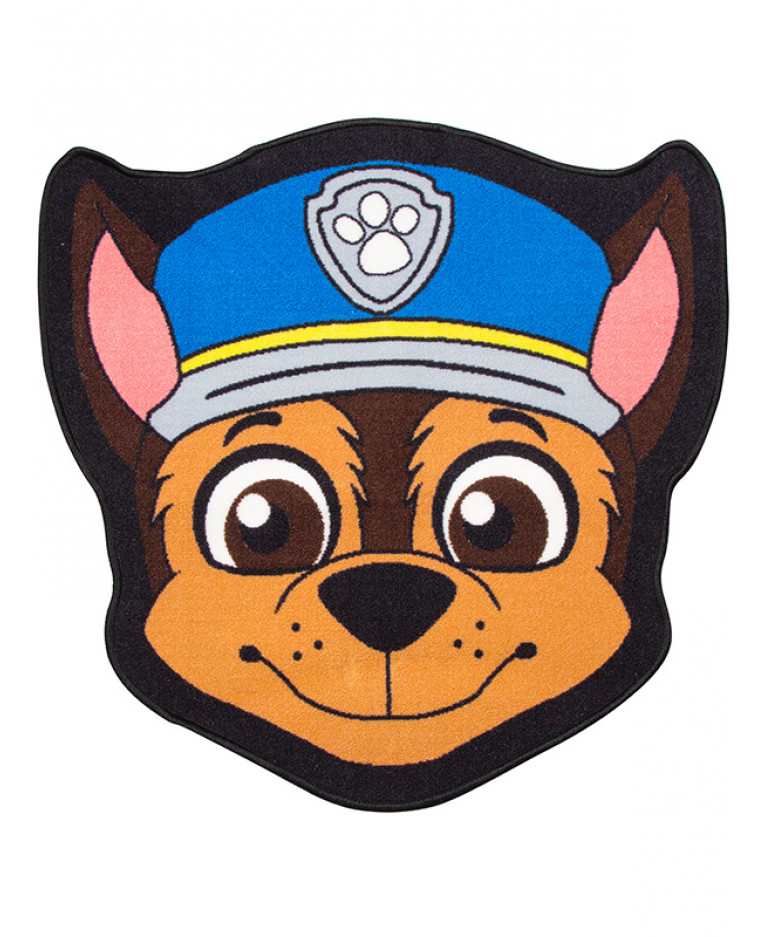 765x937 Paw Patrol Chase Shaped Rug Bedroom