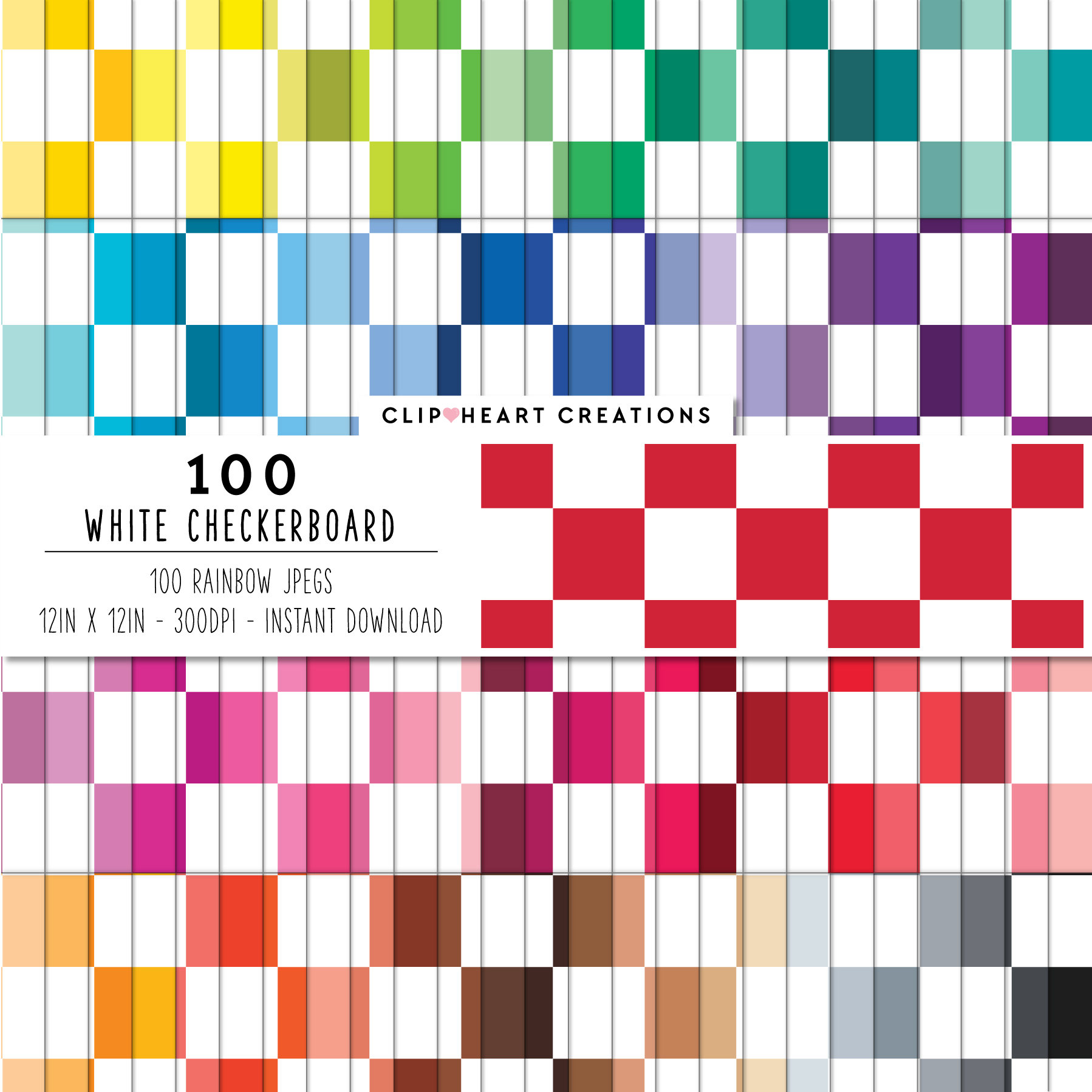 1798x1798 100 Checkerboard Digital Paper Cute Digital Paper Checkerboard