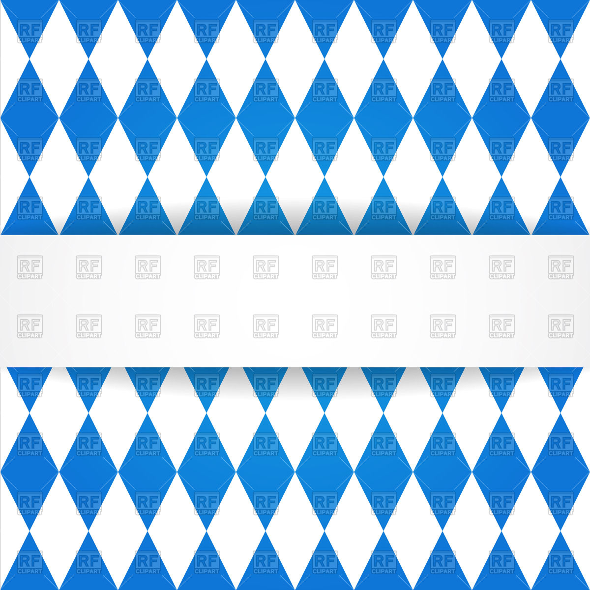 1200x1200 Oktoberfest Background With Bavarian Flag Pattern Royalty Free