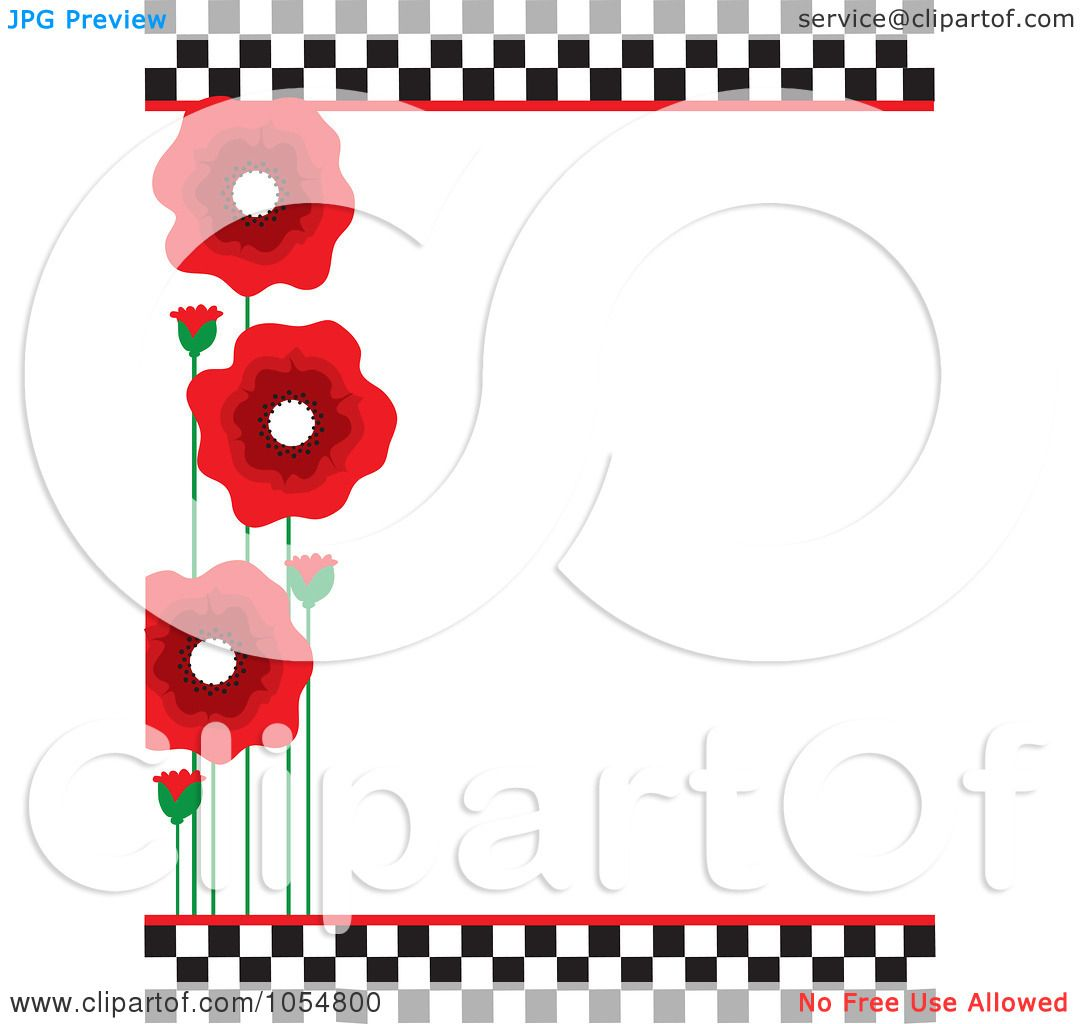 1080x1024 Royalty Free Vector Clip Art Illustration Of A Border Of Red