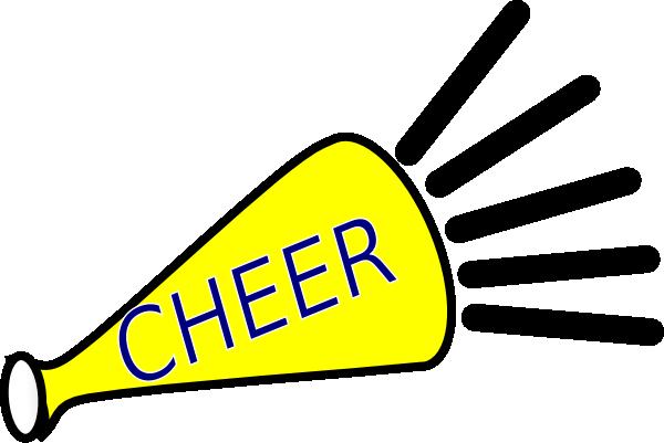 600x401 Cheer Leader Shout Clip Art
