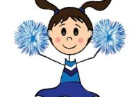 200x140 Cheerleader Clipart Thanksgiving Clipart
