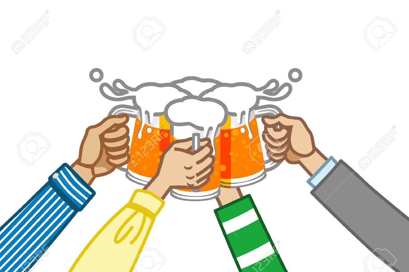 1300x866 Beer Cheers Clipart Cheers Cheer Clipart 16