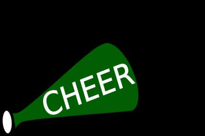 400x267 Cheerleading Megaphones Clipart Free Download Clip Art