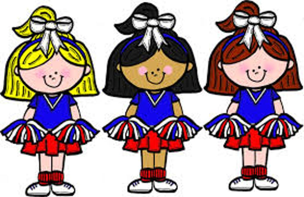 1024x664 Collection Of Cheerleader Clipart Free High Quality, Free
