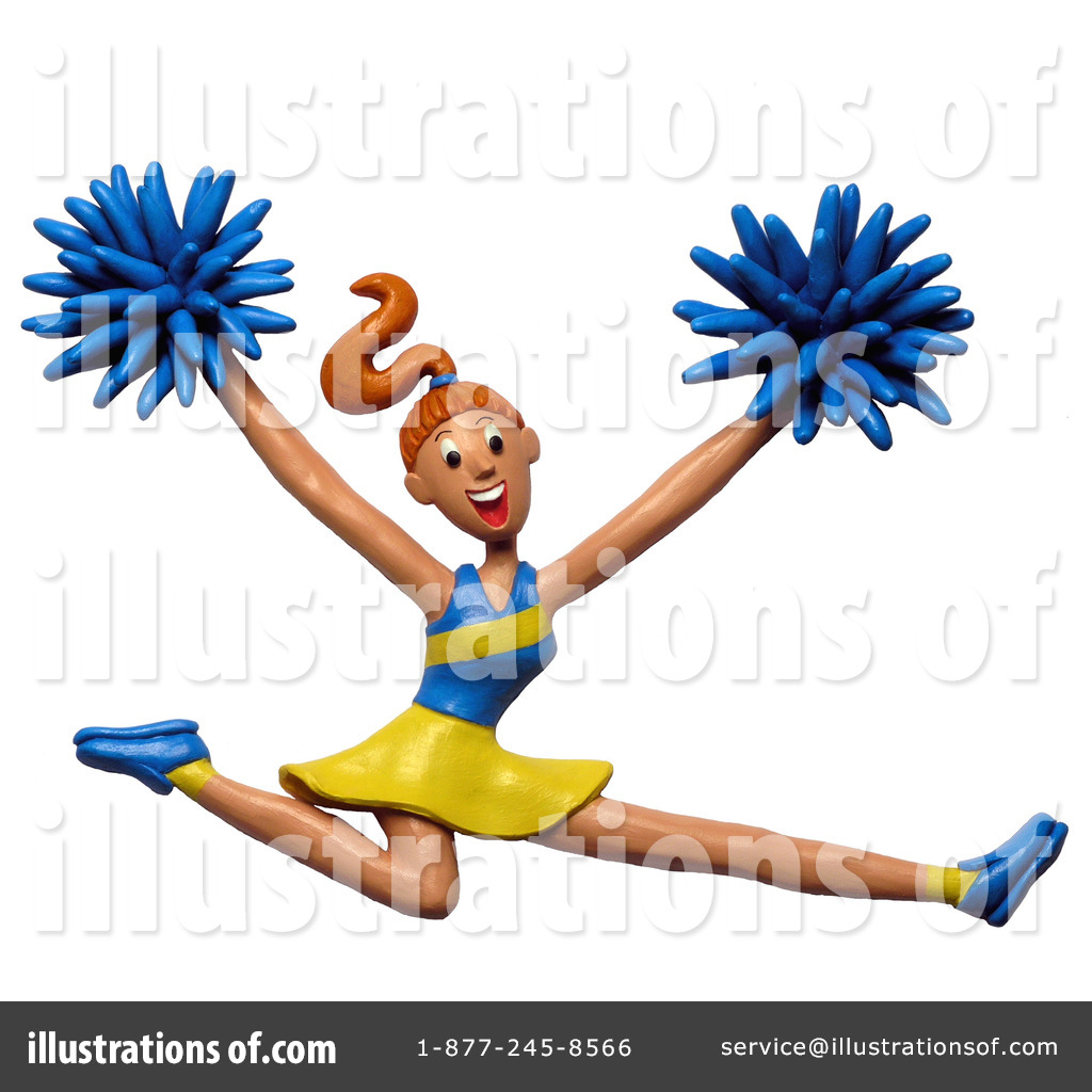 1024x1024 Cheerleader Clipart