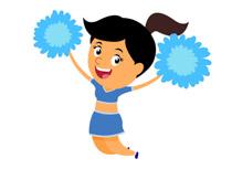 210x153 Free Cheerleading Clipart
