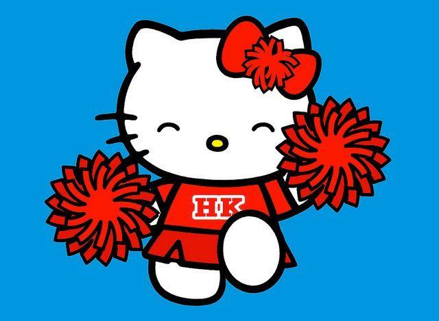 640x469 Hello Kitty Cheerleader Clipart Hello Kitty Hello