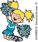 162x179 Majestic Cheerleader Image Clipart Free Cheerleading Clip Art