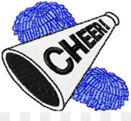260x240 Free Download Cheerleading Megaphone Pom Pom Clip Art