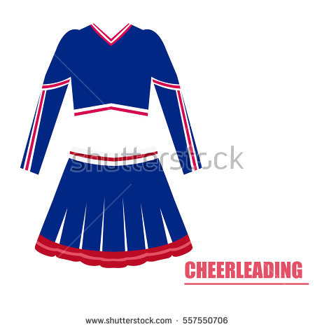450x470 Collection Of Cheerleader Uniform Clipart High Quality, Free