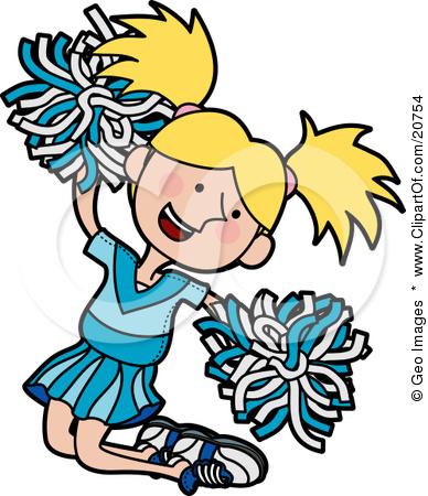 388x450 Cartoon Cheerleader Clipart Clipartlook