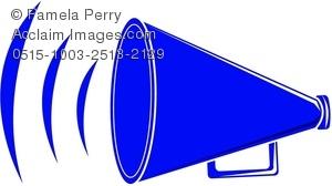 300x168 Cheer Megaphone Clipart Cliparthut