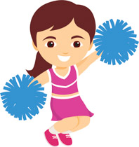 198x210 Free Cheer Clipart Collection