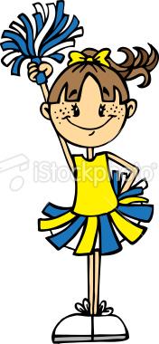 176x380 Top 59 Cheerleading Clip Art