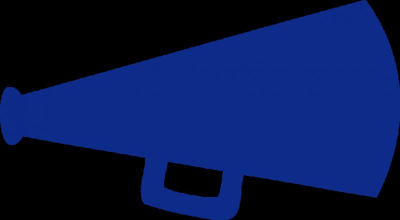 800x440 Blue Clipart Cheerleading