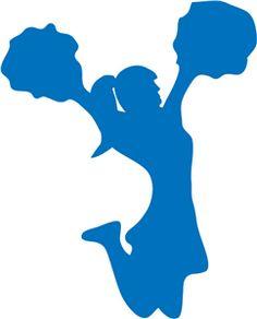 236x292 12 Cheerleader Silhouette Digital Clipart By Omgdigitaldesigns