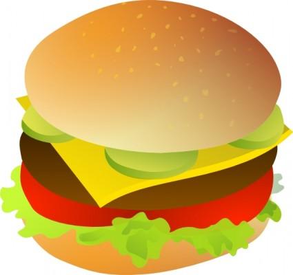 425x400 Cheese Burger Clip Art Free Vectors Ui Download
