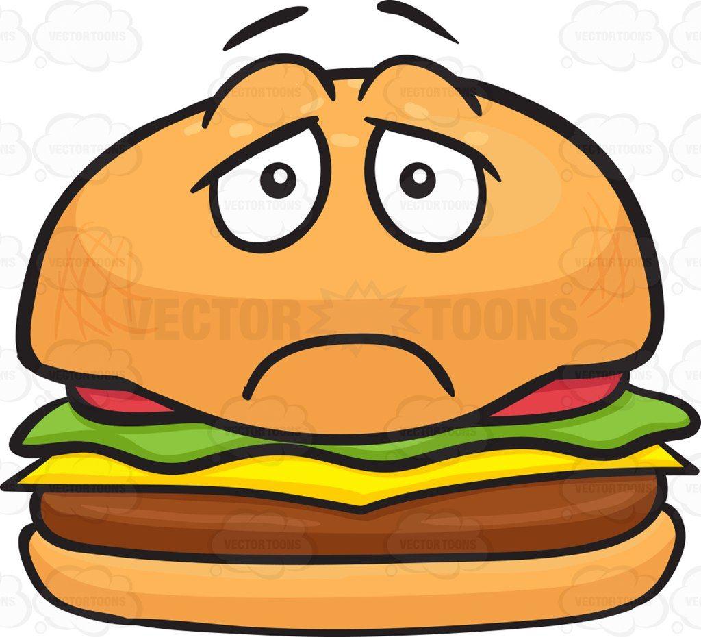 1024x930 Depressed Looking Cheeseburger Depressing