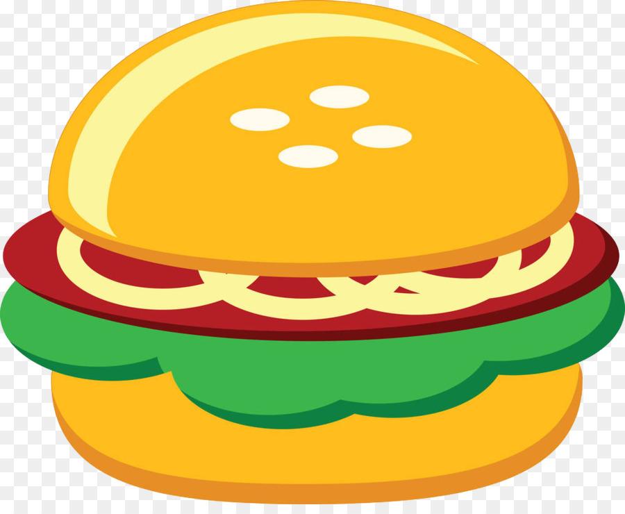 900x740 Hamburger Fast Food Chicken Sandwich Clip Art