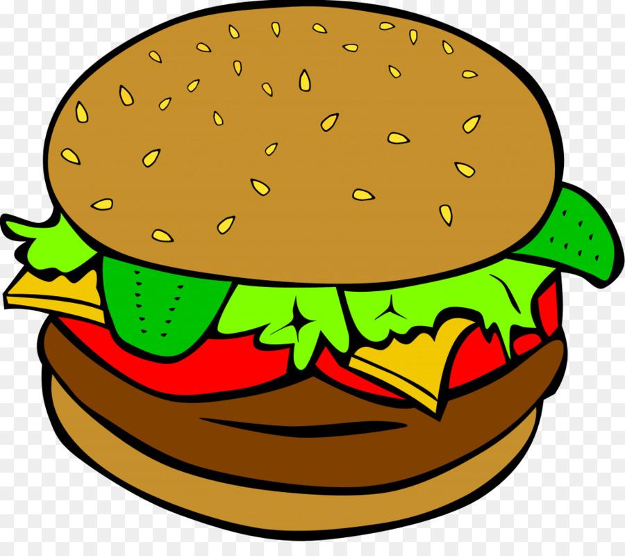 900x800 Hamburger Hot Dog Cheeseburger Fast Food Clip Art