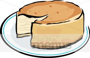 300x196 New York Cheesecake Clipart Dessert Images