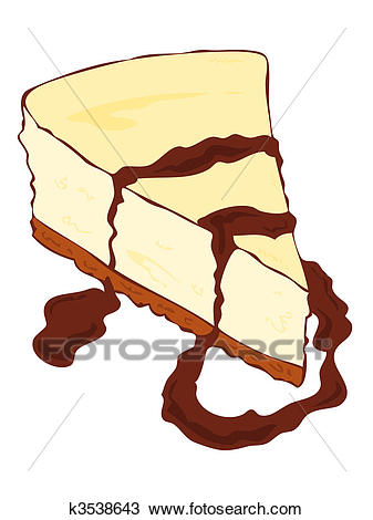 337x470 Cheesecake Clipart Clipart Of Cheesecake Slice With Chocolate