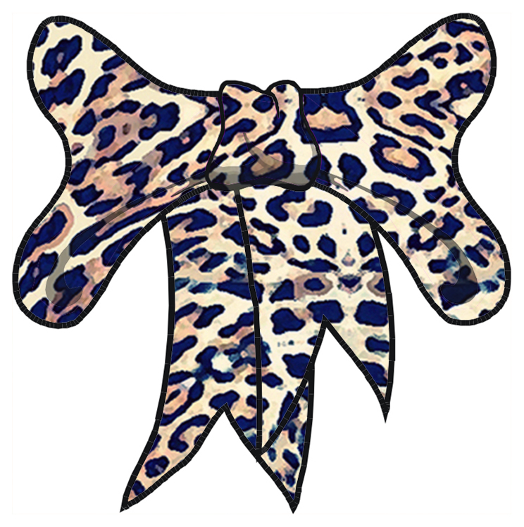 744x748 Cheetah Print Clip Art